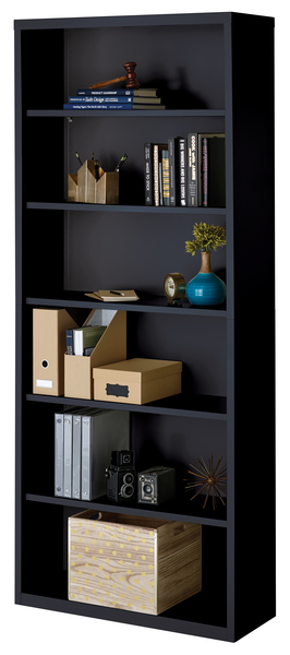 6 Shelf, black
